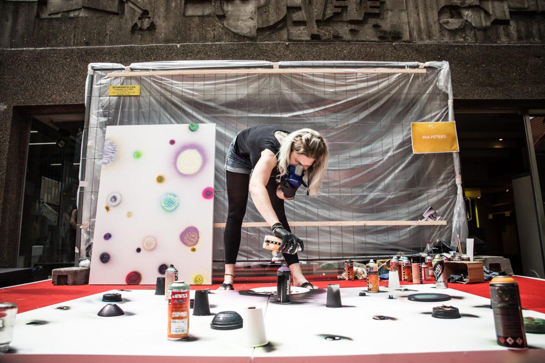 Herbart's Graffiti Session; Herbartgang; Oldenburg
